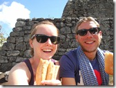 Perfect picnic on Wayna Picchu!!! 28 06 2011