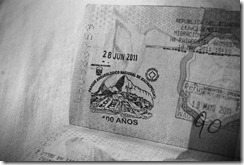 Machu Picchu passport stamp 29-06-2011 (wildyellowbelly photography)