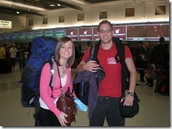 At Manchester Airport on route to Venezuela 25-04-2008