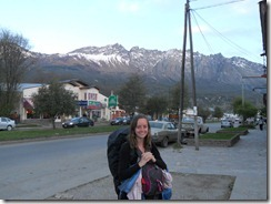 Me & my rucksack leaving the Andes.