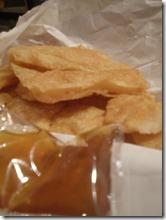 Taiwan - Night Market - prawn toast