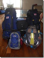 Nic & Tom's Rucksacks leaving Taiwan