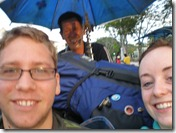 Malaysia -  Penang - Us & our rucksacks squashed on a tricycle!
