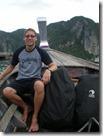 Thailand - Koh Phi Phi - rucksacks on a boat