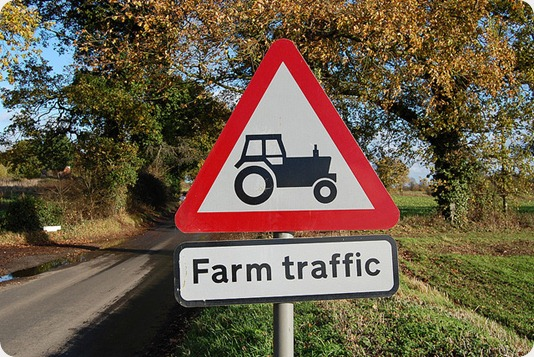 Lincolnshire - Farm traffic delays