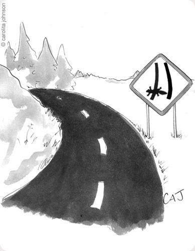 Road Kill Cartoon