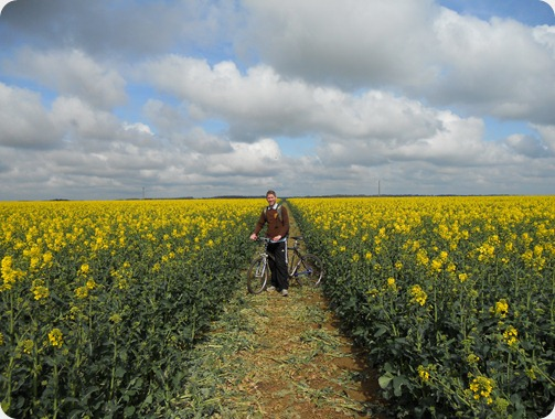 Lincolnshire Bike Ride (near Silk WIlloughby) -  14-04-2012