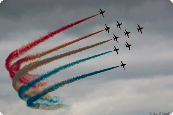 Lincolnshire - the home of the Red Arrows