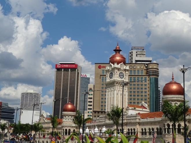 Kuala Lumpur - my favourite building opposite Merdeka Square