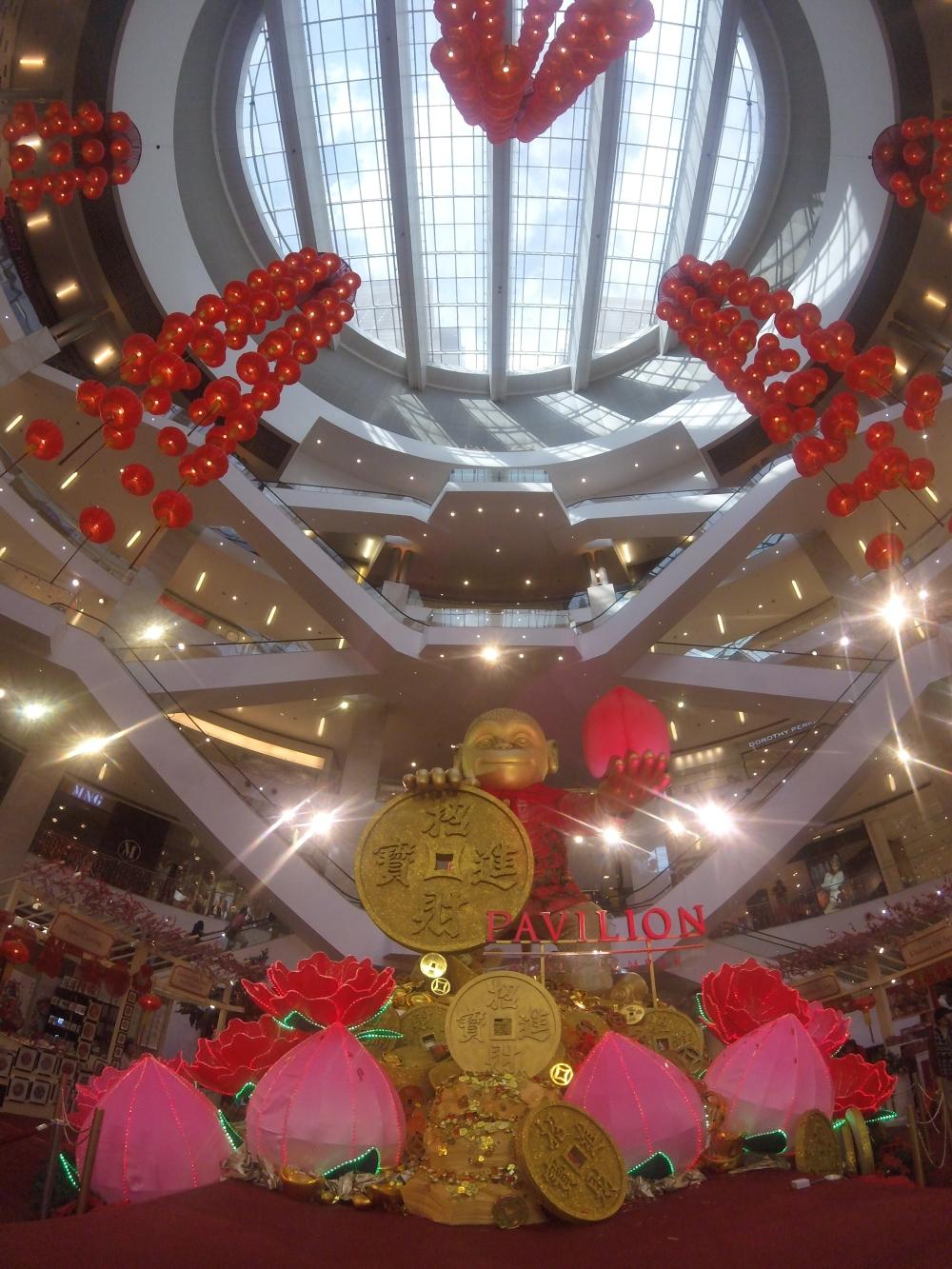 Kuala Lumpur - Chinese New Year decorations in Pavillion Mall