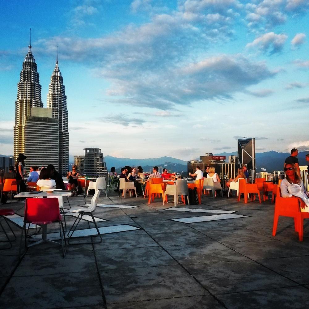 Kuala Lumpur - Heli Pad located in Menara KH