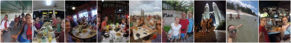 Kuala Lumpur - 2 months of visitors