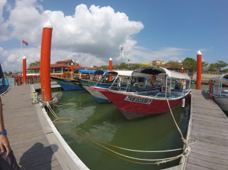 Boat to Perhentian Kecil