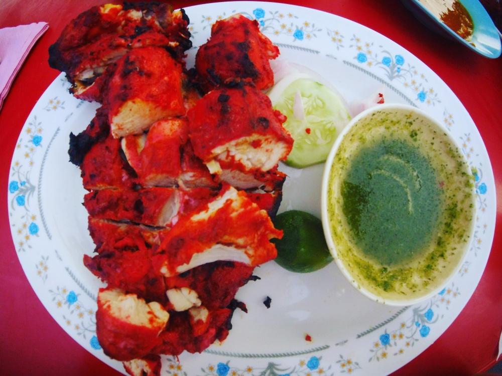 tandoori chicken, Pak Putra restaurant Melacca