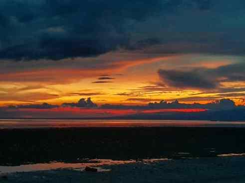 Sunset on Siquijor, Cebu, The Philippines