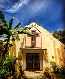 Tropical church, Siquijor, Cebu, The Philippines