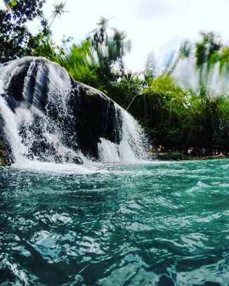 Cambugahay falls, Siquijor, Cebu, The Philippines