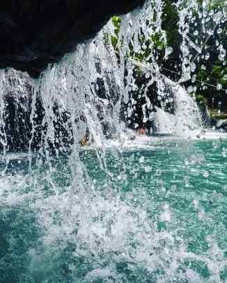 Cambugahay falls, Siquijor, Cebu, The Philippines