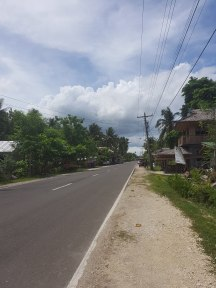 Siquijor road, Cebu, The Philippines