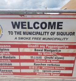 The Port, Siquijor, Cebu, The Philippines - smokefree