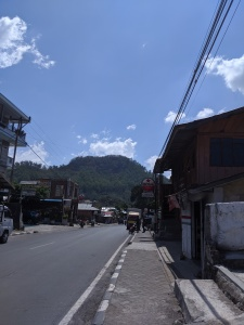 Bajawa main street
