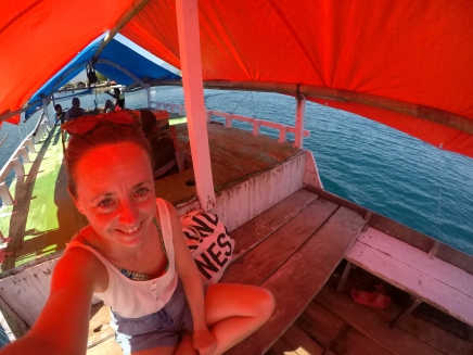 Really excited to scuba dive off Maumere despite the slightly terrible dive guide!