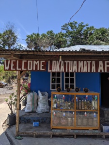 an arak alcohol shop on the roadside